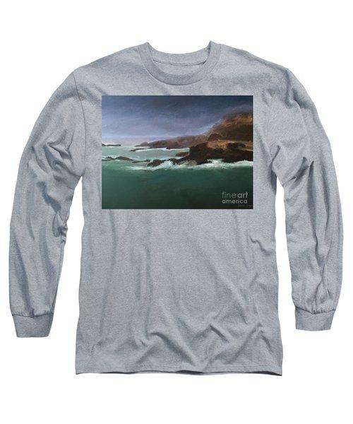 Point Lobos Monterey Long Sleeve T-Shirt