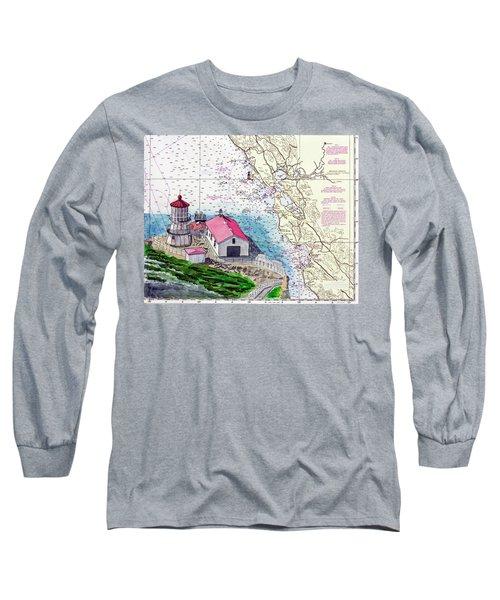 Point Reyes Light Station Long Sleeve T-Shirt