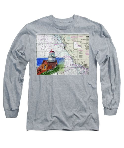Point Sur Light Station Long Sleeve T-Shirt