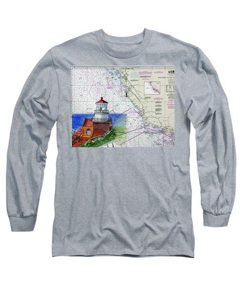 Point Sur Light Station Long Sleeve T-Shirt