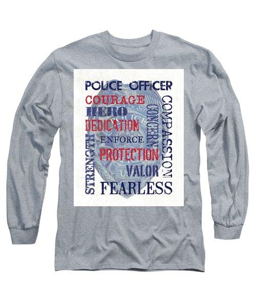 Police Inspirational 1 Long Sleeve T-Shirt