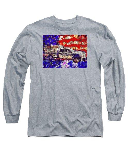 Police Truck Long Sleeve T-Shirt