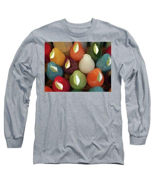 Polychromatic Pears Long Sleeve T-Shirt
