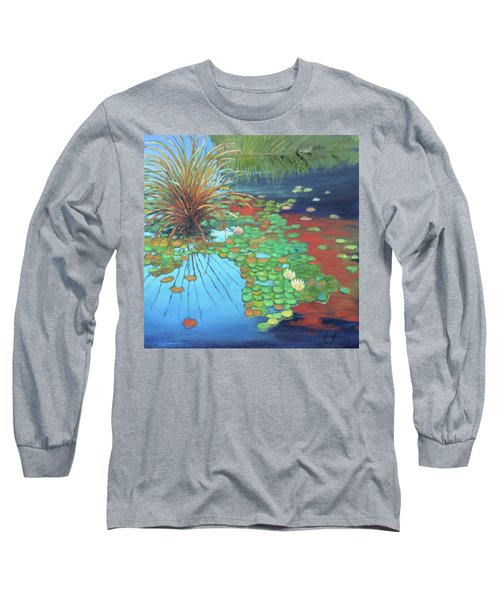 Pond Long Sleeve T-Shirt by Gary Coleman