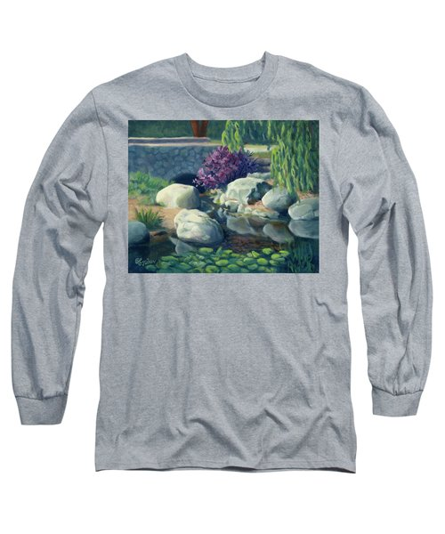 Pond Of Reflection Long Sleeve T-Shirt