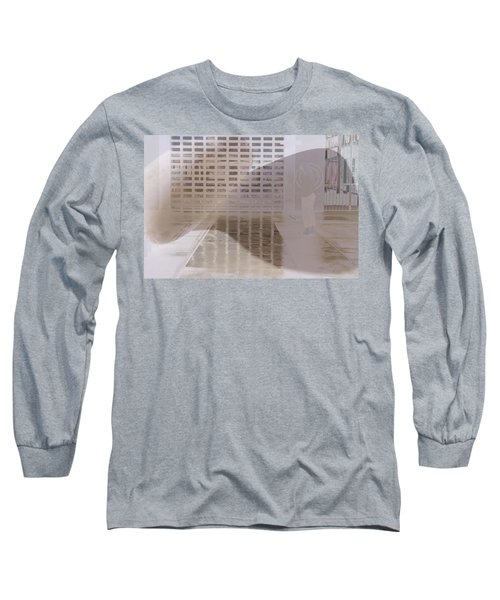 Long Sleeve T-Shirt featuring the photograph Pondering by Kerryn Madsen-Pietsch