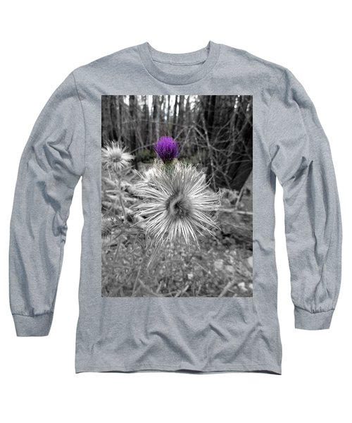 Long Sleeve T-Shirt featuring the photograph Poof by Marie Neder