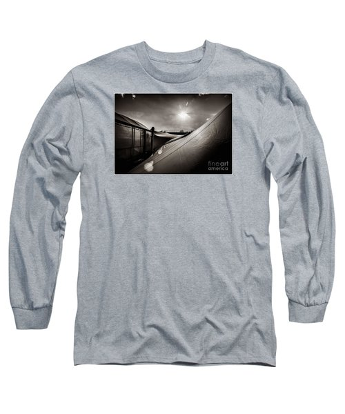 Pop Brixton Has A New Roof Long Sleeve T-Shirt by Lenny Carter