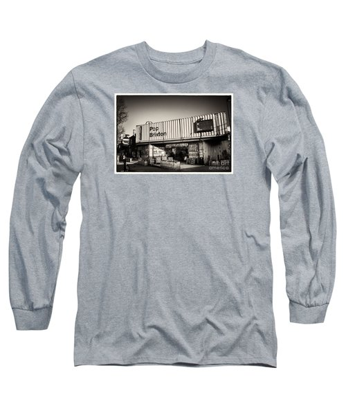Long Sleeve T-Shirt featuring the photograph Pop Brixton - Spiral Staircase - Industrial Style by Lenny Carter