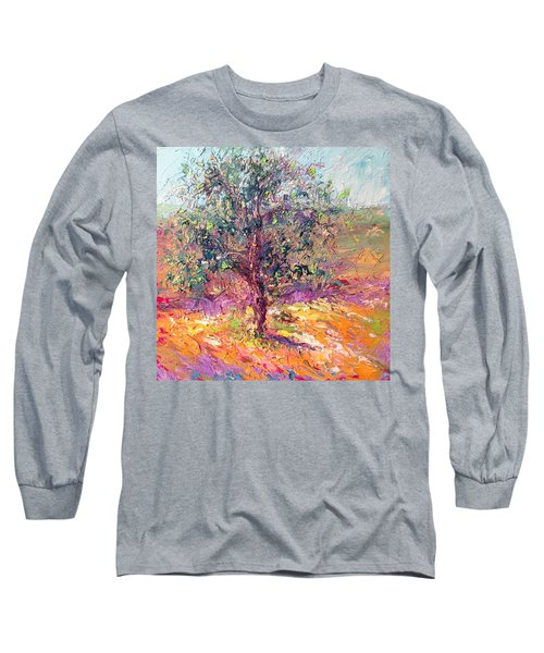 Poppies And Lupine Long Sleeve T-Shirt