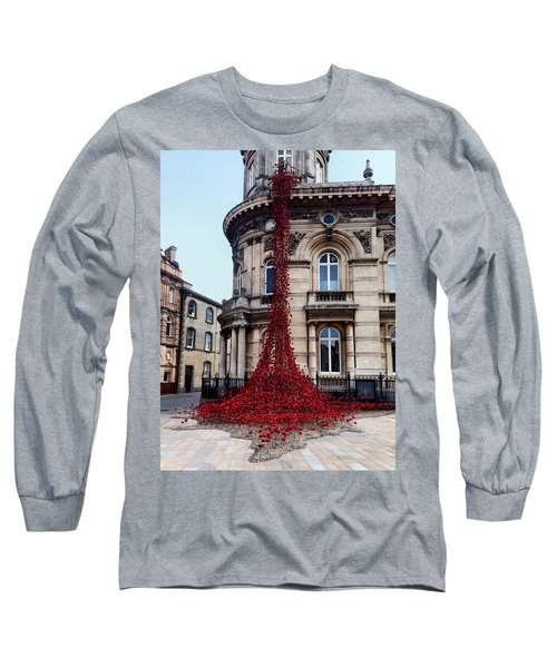 Poppies - City Of Culture 2017, Hull Long Sleeve T-Shirt