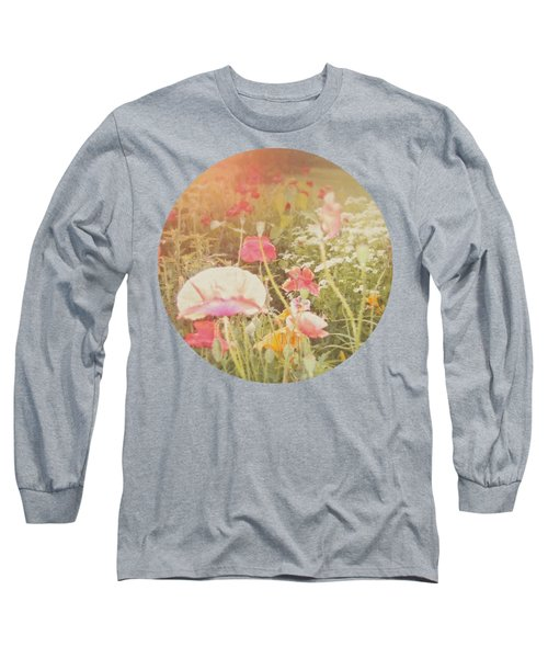 Poppies In The Light Long Sleeve T-Shirt