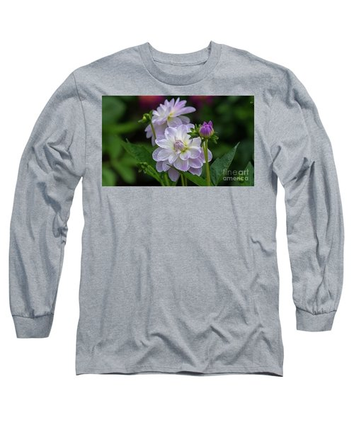 Porcelain Dahlias 2 Long Sleeve T-Shirt