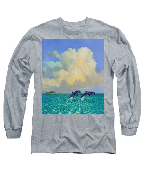 Porpoiseful Play Long Sleeve T-Shirt