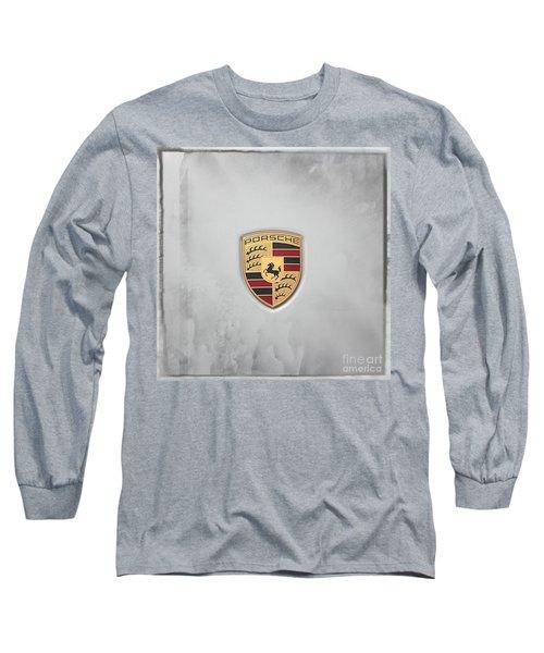 Porsche Long Sleeve T-Shirt by Ella Kaye Dickey