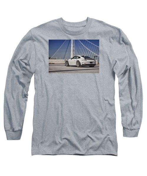 Long Sleeve T-Shirt featuring the photograph Porsche Gt3rs by ItzKirb Photography