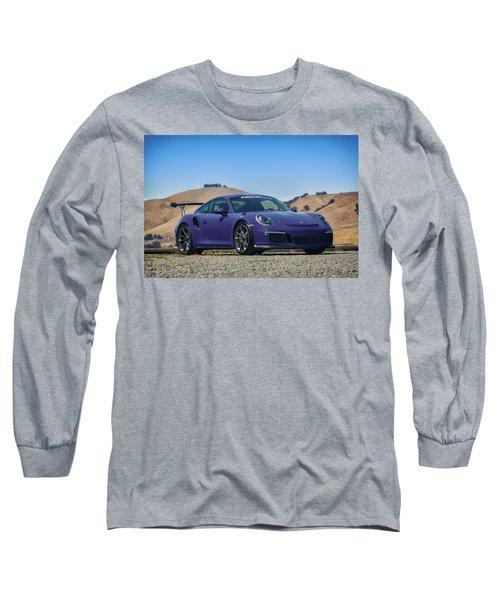 #porsche #gt3rs #ultraviolet Long Sleeve T-Shirt