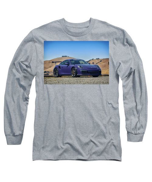 #porsche #gt3rs #ultraviolet Long Sleeve T-Shirt