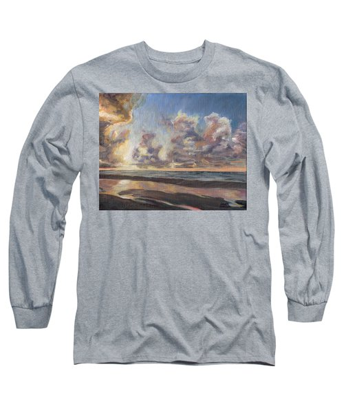 Port Aransas Sunrise Long Sleeve T-Shirt