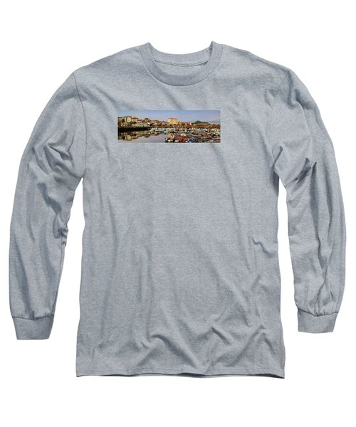 Long Sleeve T-Shirt featuring the photograph Port Of Ferrol Galicia Spain by Pablo Avanzini