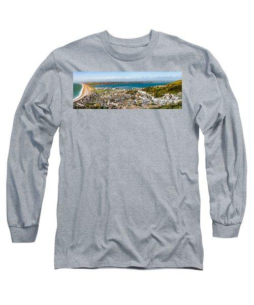Portland And Chesil Beach Long Sleeve T-Shirt