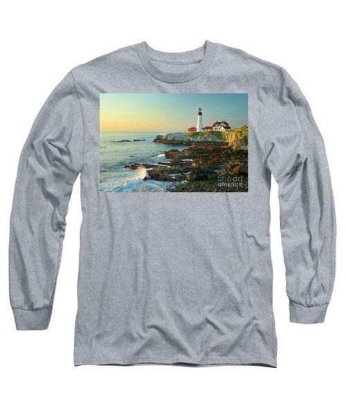 Portland Head Light No. 2  Long Sleeve T-Shirt