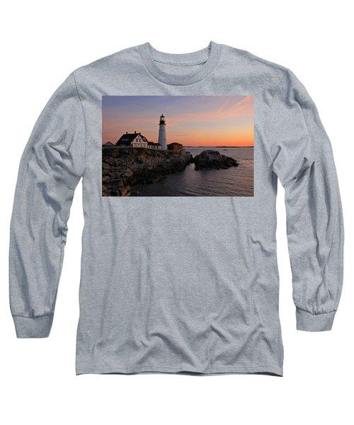 Portland Head Lighthouse Long Sleeve T-Shirt