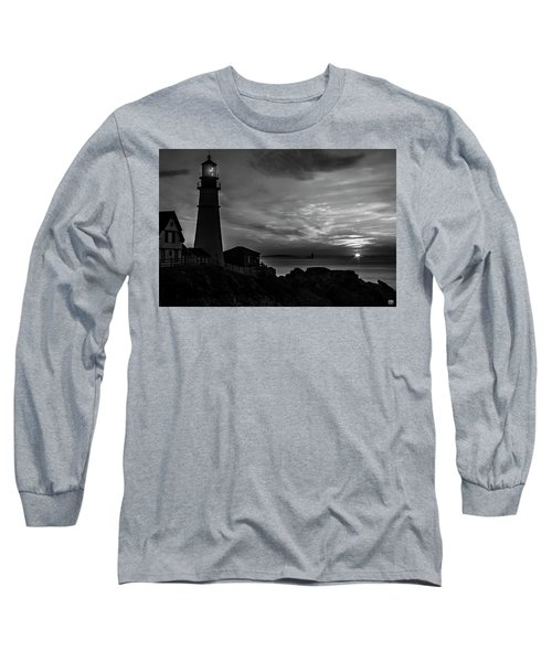 Portland Head Noir Long Sleeve T-Shirt
