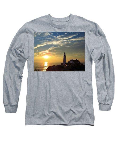 Portland Headlight Sunbeam Long Sleeve T-Shirt