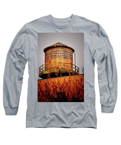 Portland Water Tower IIi Long Sleeve T-Shirt