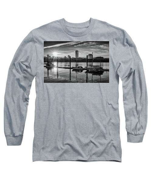 Portland Waterfront  Long Sleeve T-Shirt