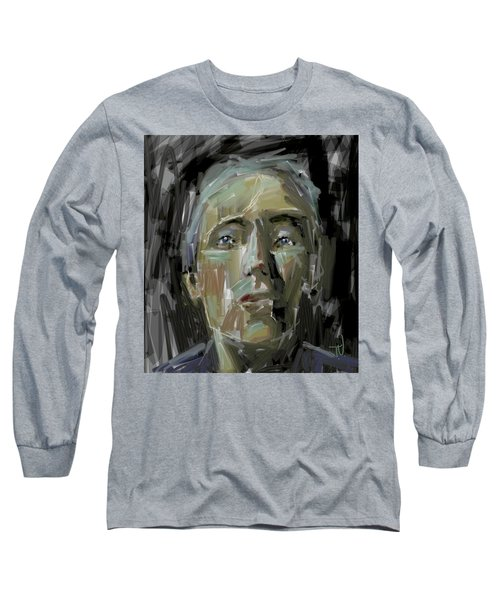 Portrait - 10march2017 Long Sleeve T-Shirt by Jim Vance