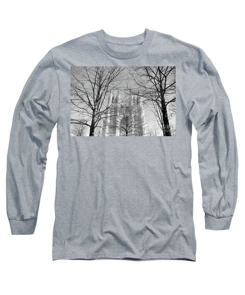 Portrait Of A Cathedral Long Sleeve T-Shirt