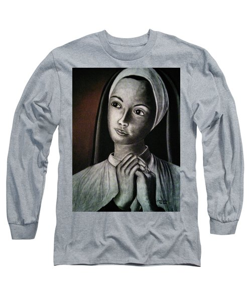 Portrait Of A Nun Long Sleeve T-Shirt