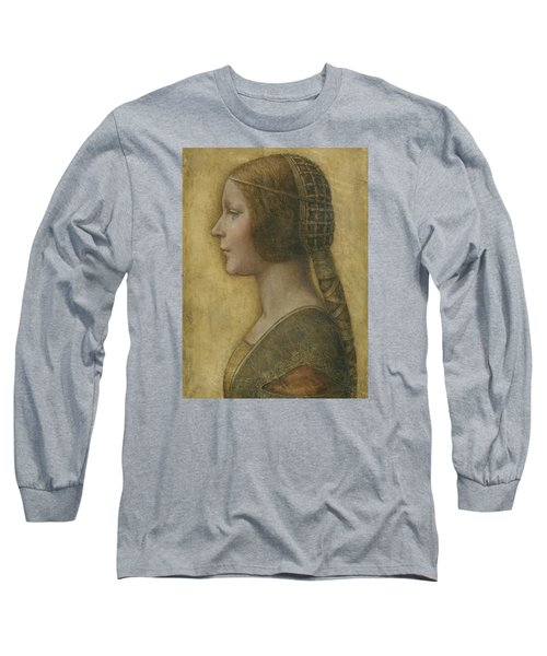 Portrait Of A Young Fiancee Long Sleeve T-Shirt