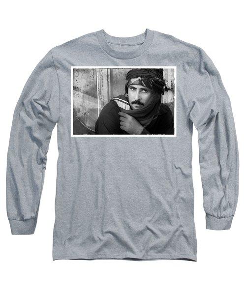 Portrait Of An Arab Man Long Sleeve T-Shirt