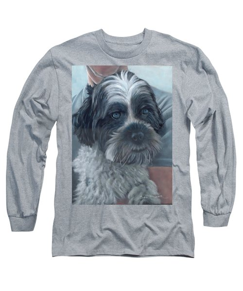 Portrait Of Charley Long Sleeve T-Shirt