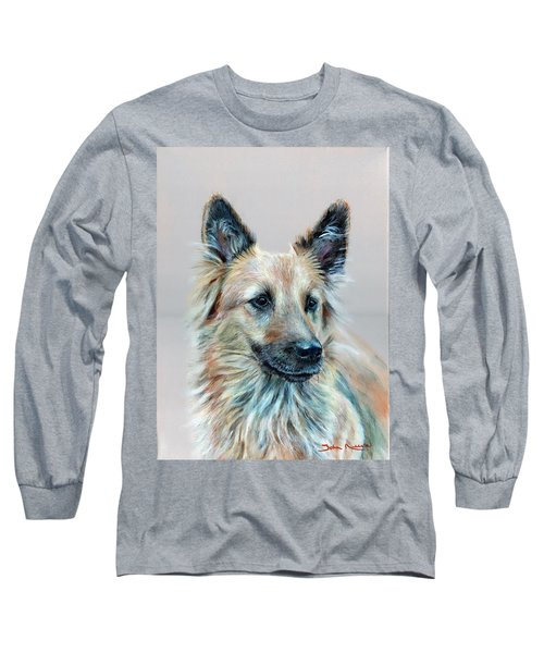 Portrait Of Sasha Long Sleeve T-Shirt