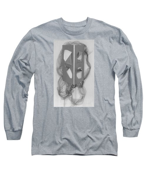 Portrait Long Sleeve T-Shirt by Al Goldfarb