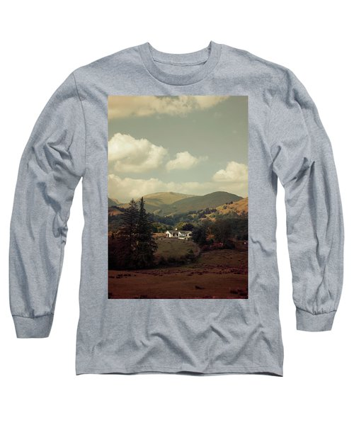 Postcards From Scotland Long Sleeve T-Shirt by Jaroslaw Blaminsky