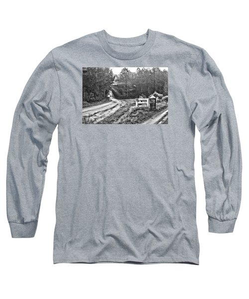 Posted On Witsell Rd Long Sleeve T-Shirt by Scott Hansen