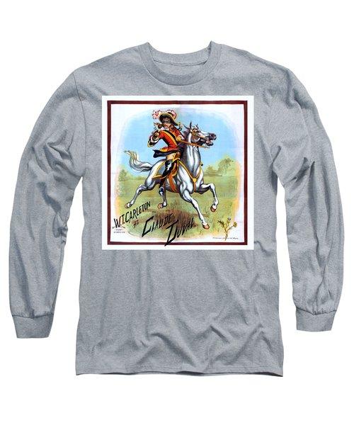 Poster W.t. Carleton As Claude Duval 1882 Long Sleeve T-Shirt