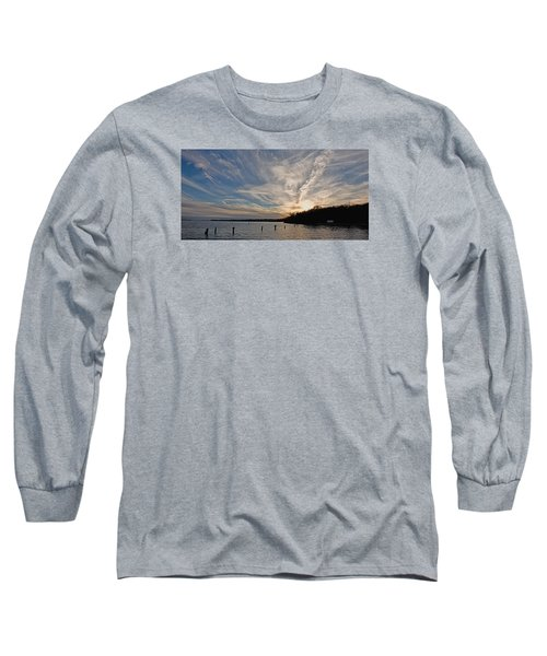 Potomac River Sunset Long Sleeve T-Shirt
