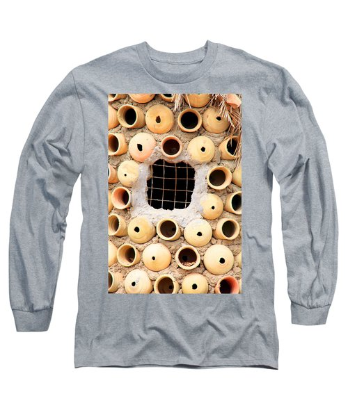 Potted View Long Sleeve T-Shirt by Jez C Self