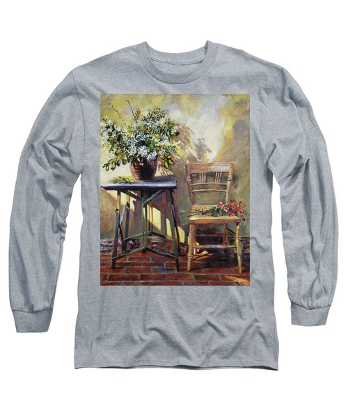 Pottery Maker's Table Long Sleeve T-Shirt