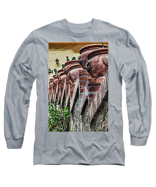 Pottery Long Sleeve T-Shirt by Patrick Boening