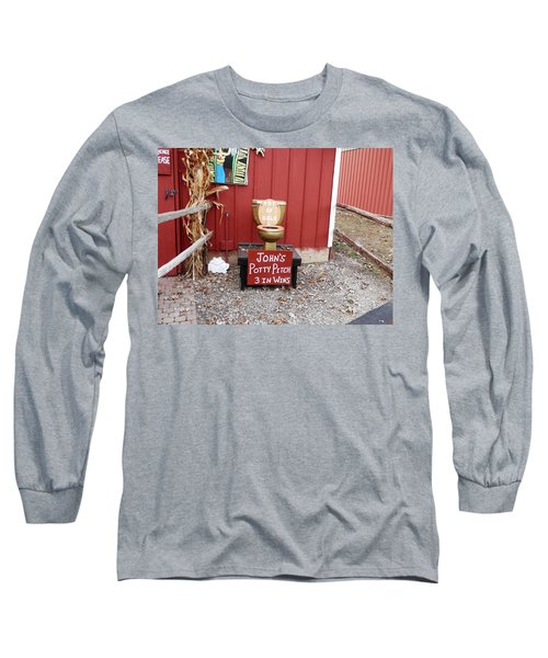 Potty Art Long Sleeve T-Shirt