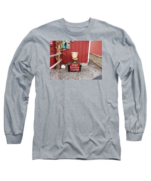 Potty Art Long Sleeve T-Shirt