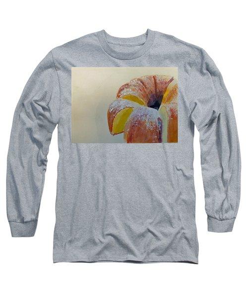 Powdered Sugar Lemon Bundt Cake Long Sleeve T-Shirt
