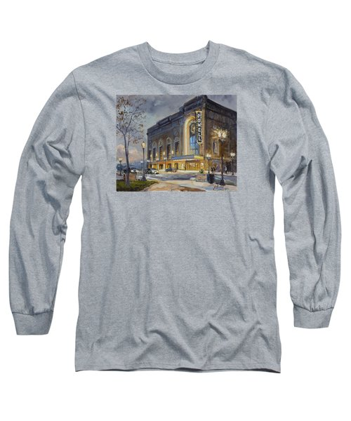 Powell Symphony Hall In Saint Louis Long Sleeve T-Shirt by Irek Szelag